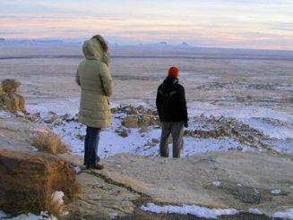 Solstice sunset Hopi