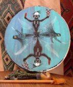 drum healing ceremony, medicine wheel, sound healing, Sedona, gong, activation, re-balance
