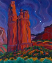 Spider Rock, Canyon de Chelly, by Tracey Turner.