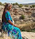 Roanna Kagenveama at Montezuma Well by Jackie Klieger