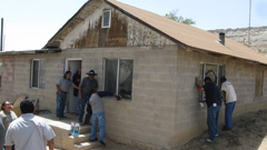 Home maintenance training at Hopi by Red Feather Development Group