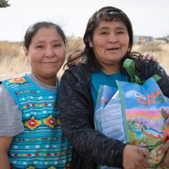Hopi cousins delivery by Jackie Klieger