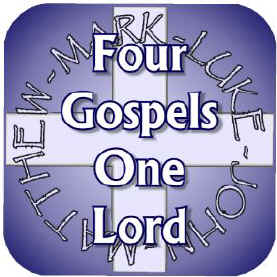 Image result for Picture of four gospels Bible