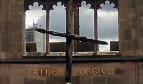 Image result for cross of nails in ruins