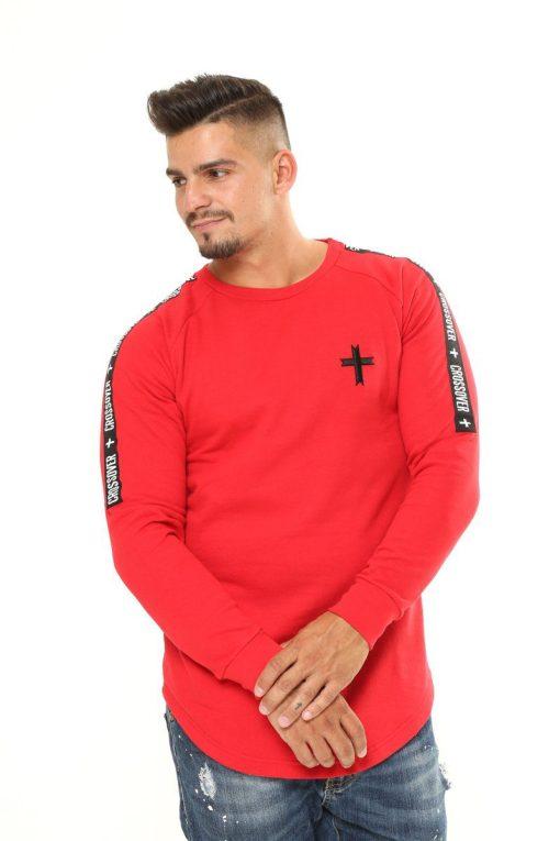 Snowstorm Long-sleeve Shirt Red