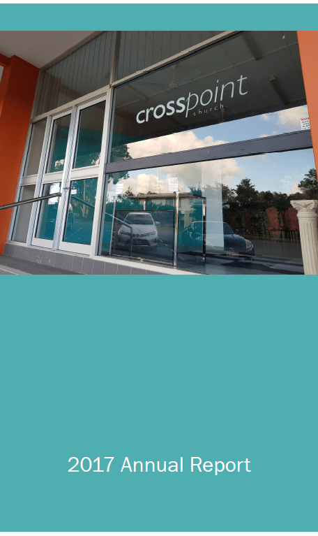 CrossPoint Church 2017 Annual Report, financial reports, accountability