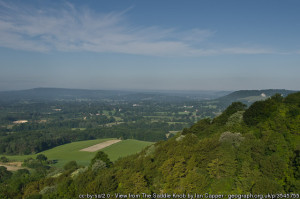 View from Saddle Knob, by Ian Capper