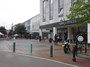 Marks and Spencer, Crawley. © Copyright Roger Cornfoot and licensed for reuse under this Creative Commons Licence.