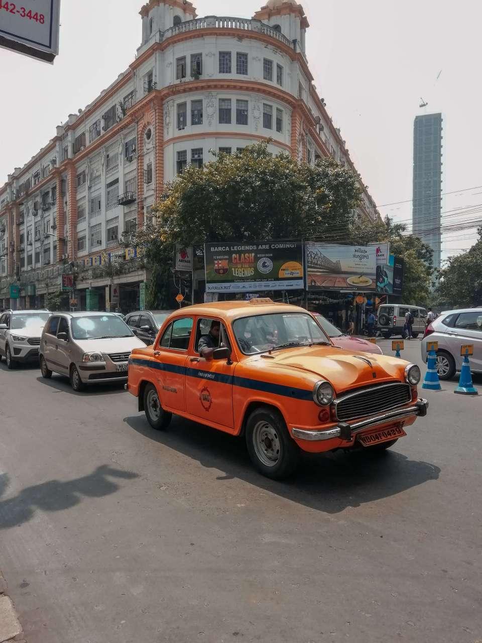 On the streets of Kolkata
