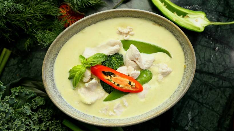 Thai green curry for breakfast anyone?