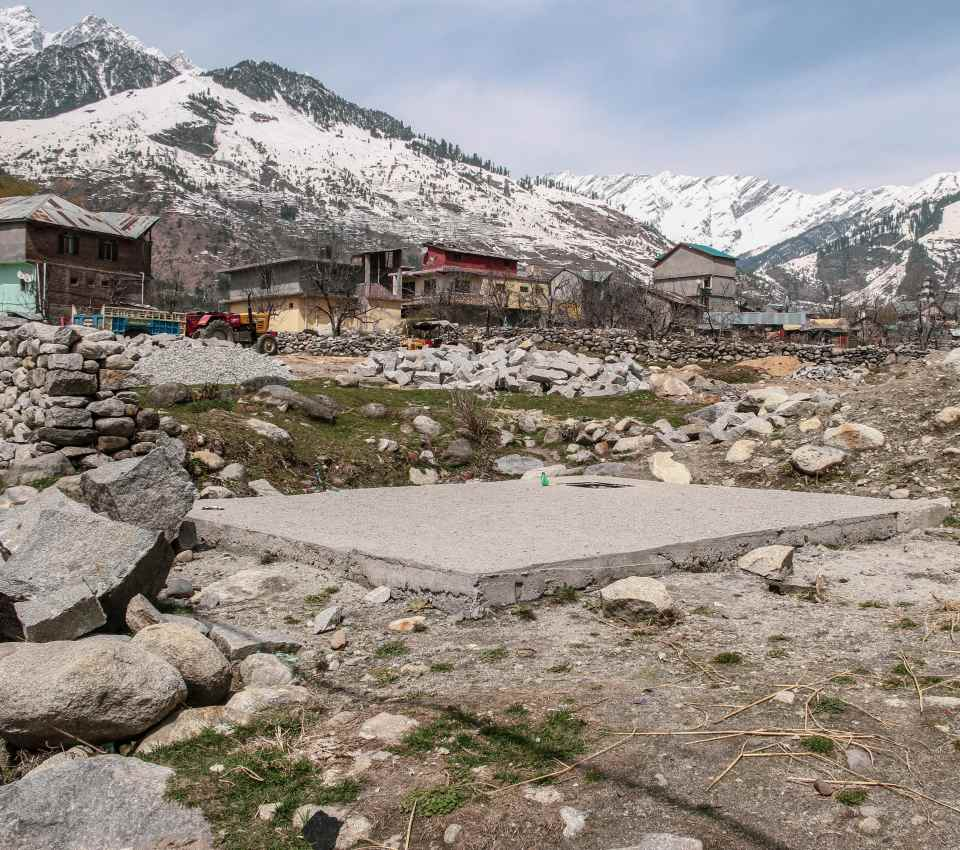 Managed to reached Bahang Village on my Solo Manali Trip