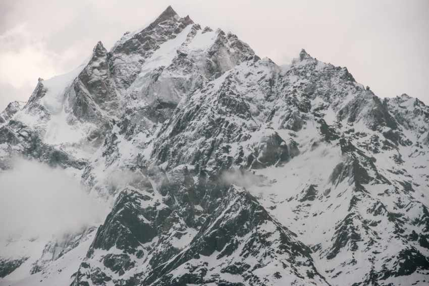 Kinnaur kailash - view from kalpa