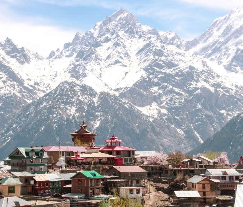 The heritage village of Kalpa - kinnaur Valley