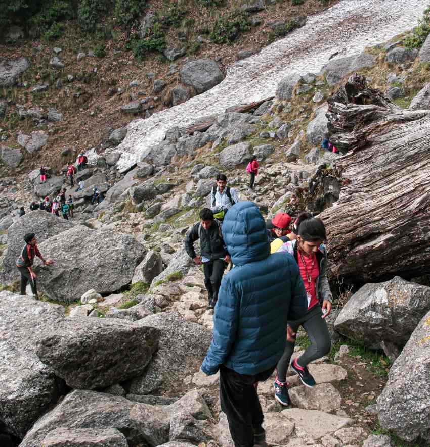 Dharamkot route for Triund Trek