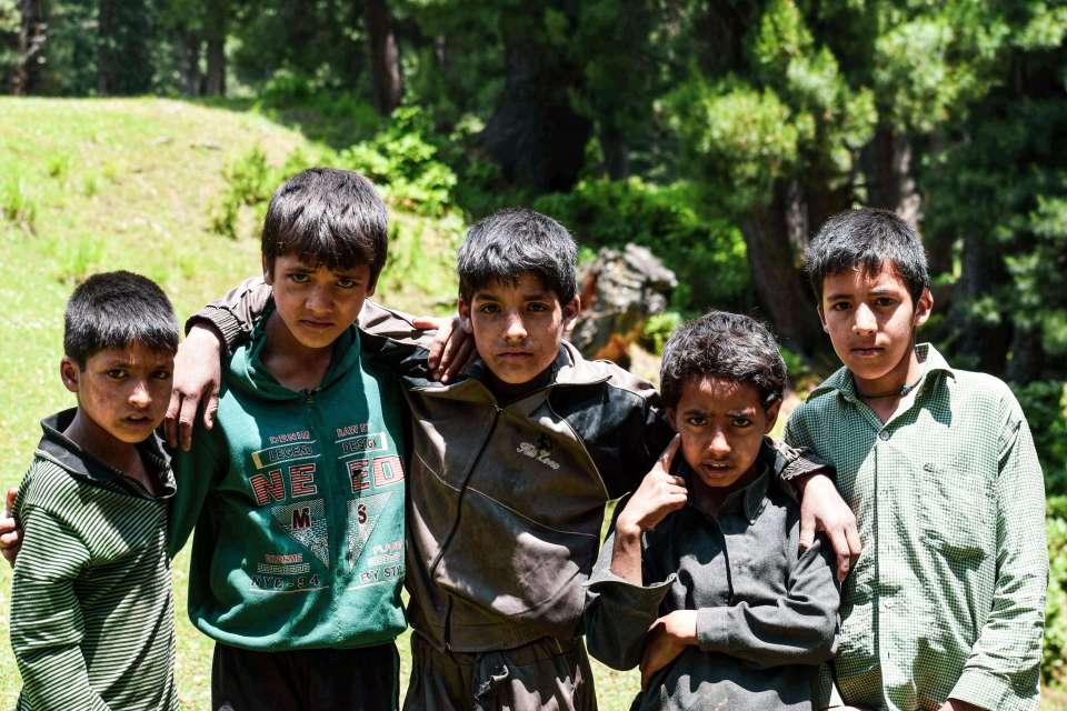Children's of Kooth Pathri (Aru Valley Pahalgam)
