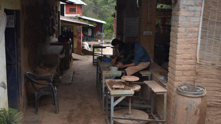 Andretta Pottery Studio - learn pottery making