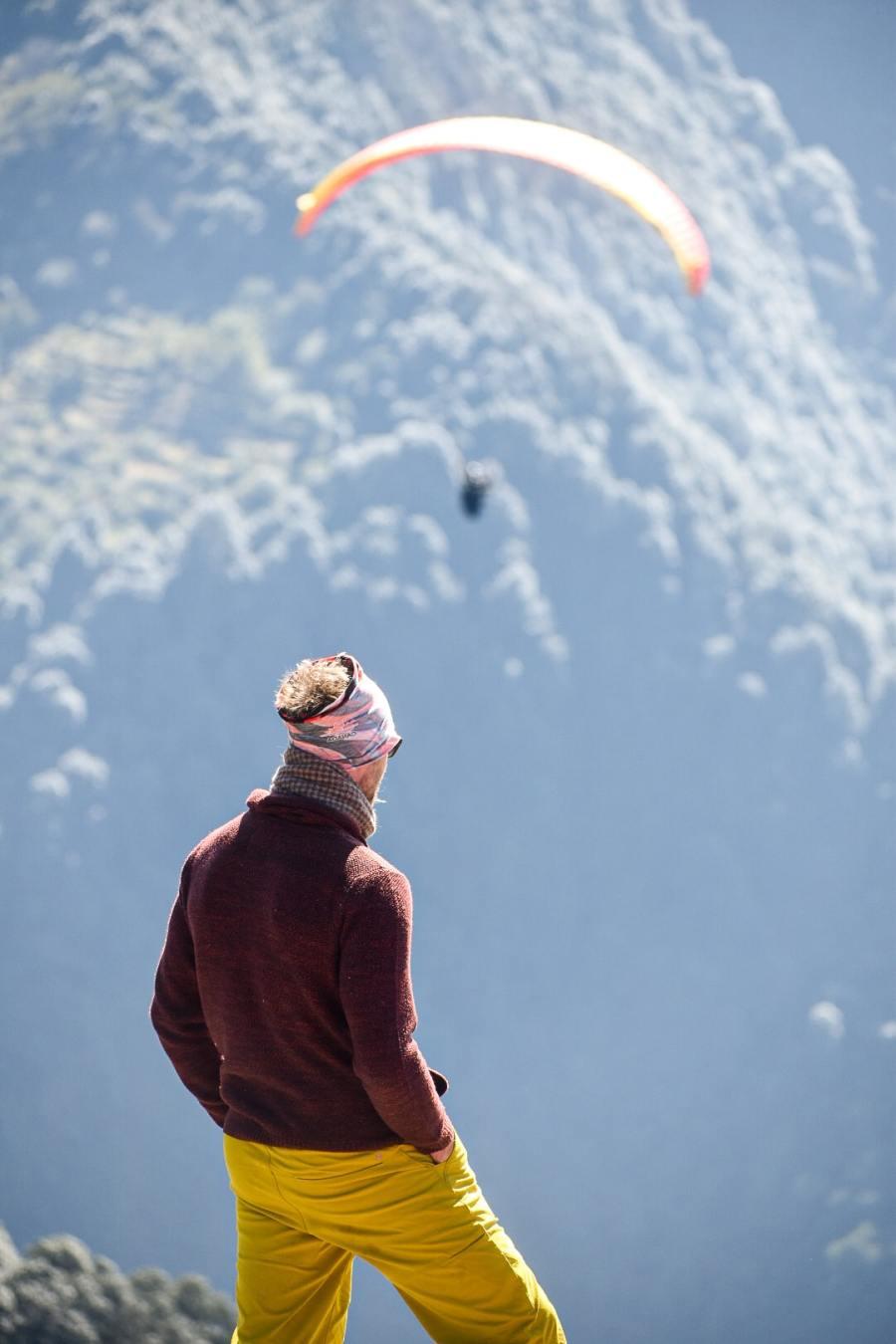Visit Paragliding take-off site