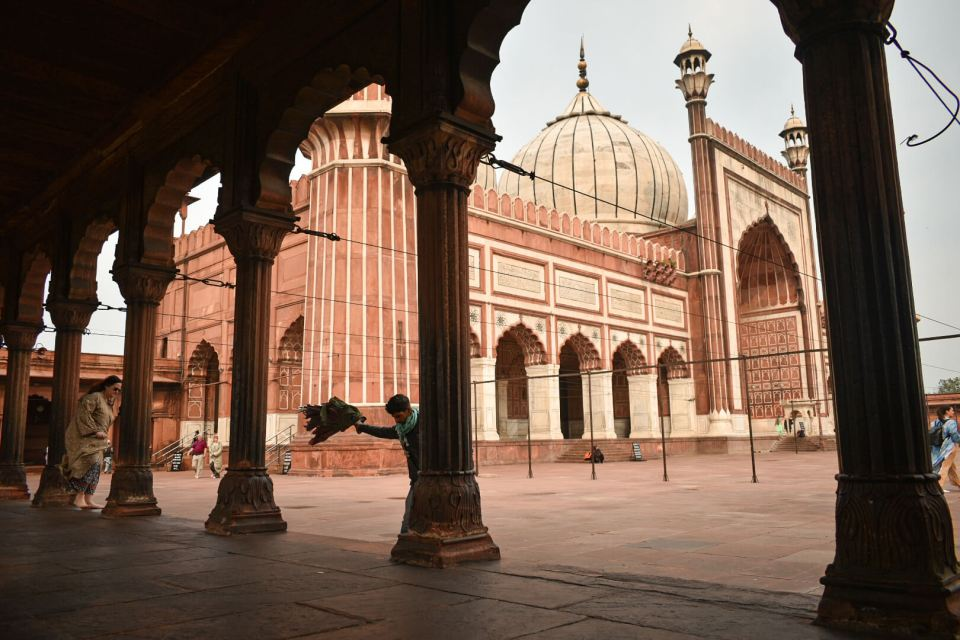 The biggest mosque - Delhi Ka Jama Masjid