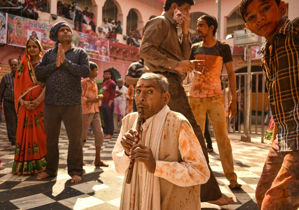 Holi Celebrations at the Dauji Temple