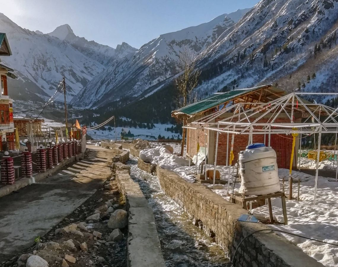 How is it Like to Travel to Chitkul in April by Vansh Tiwari