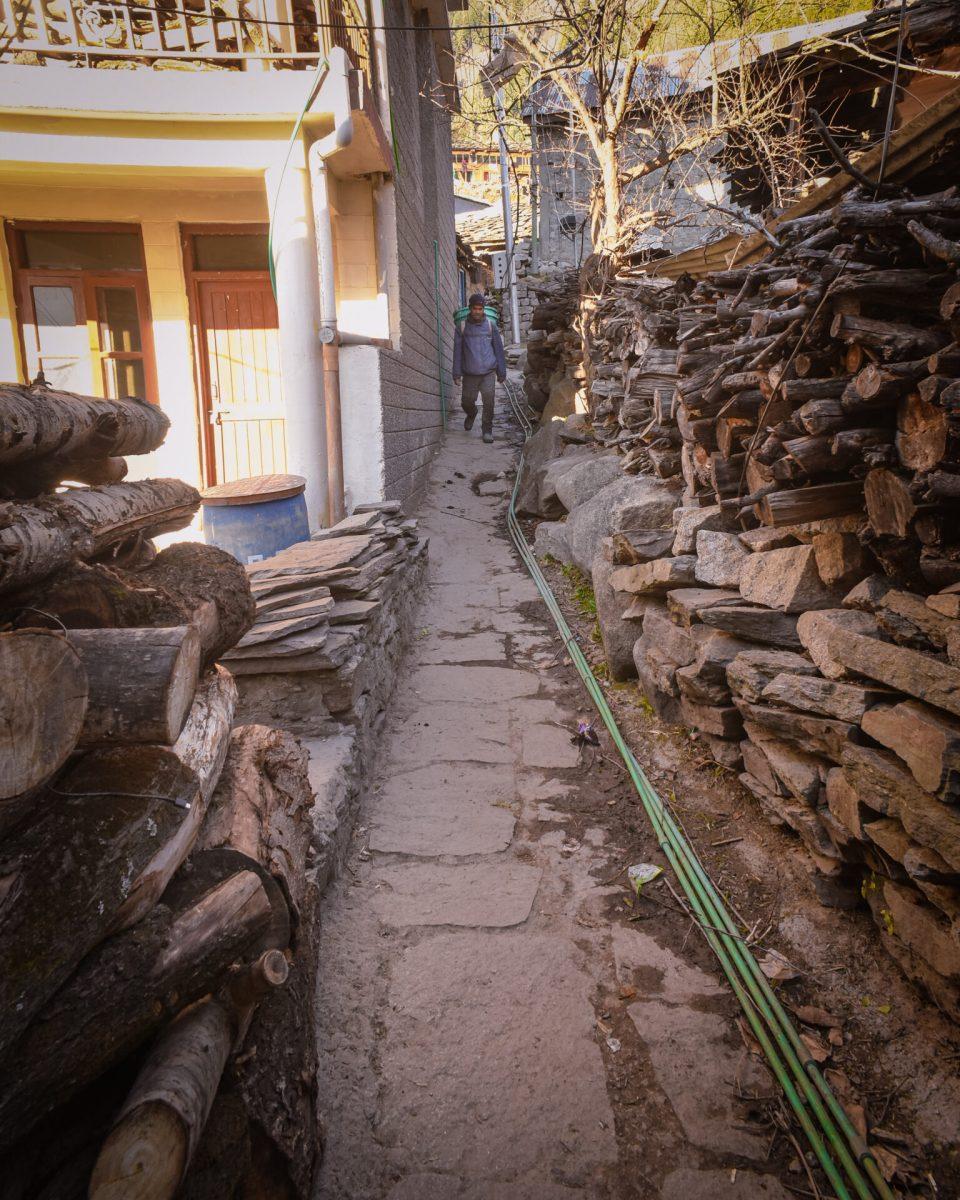 Narrow Streets of Old Manali