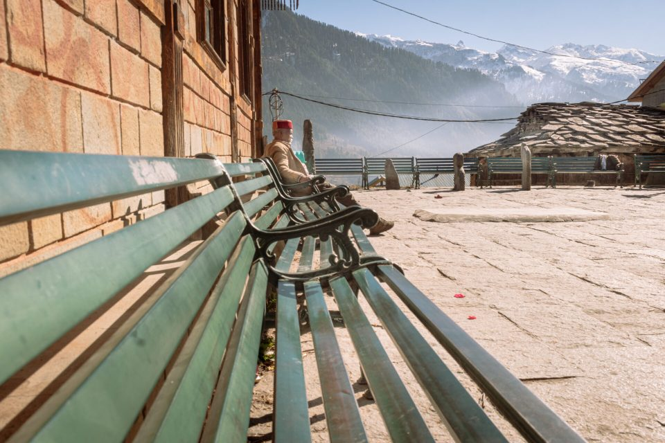 Local Spending Alone Time at Manu Temple in Manali