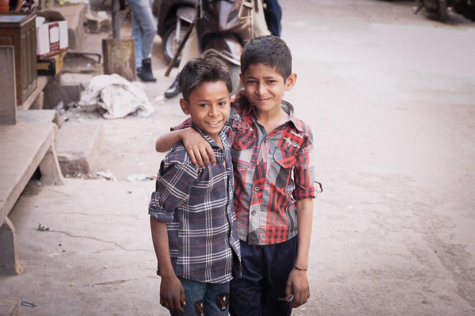 Jodhpur Street Photography Involving the local kids