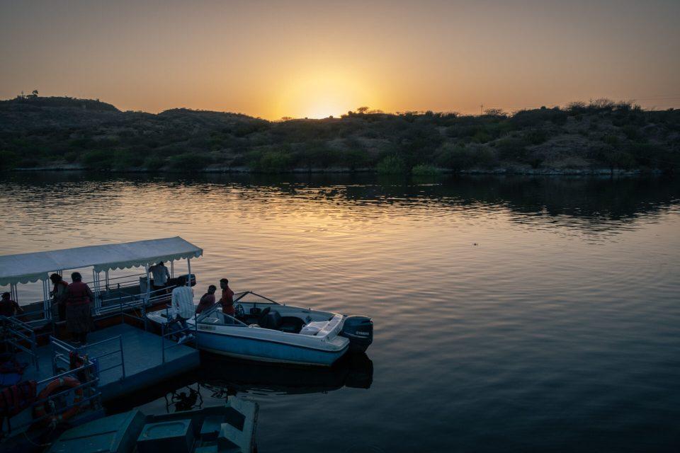 Boating on the Kaylana Lake
