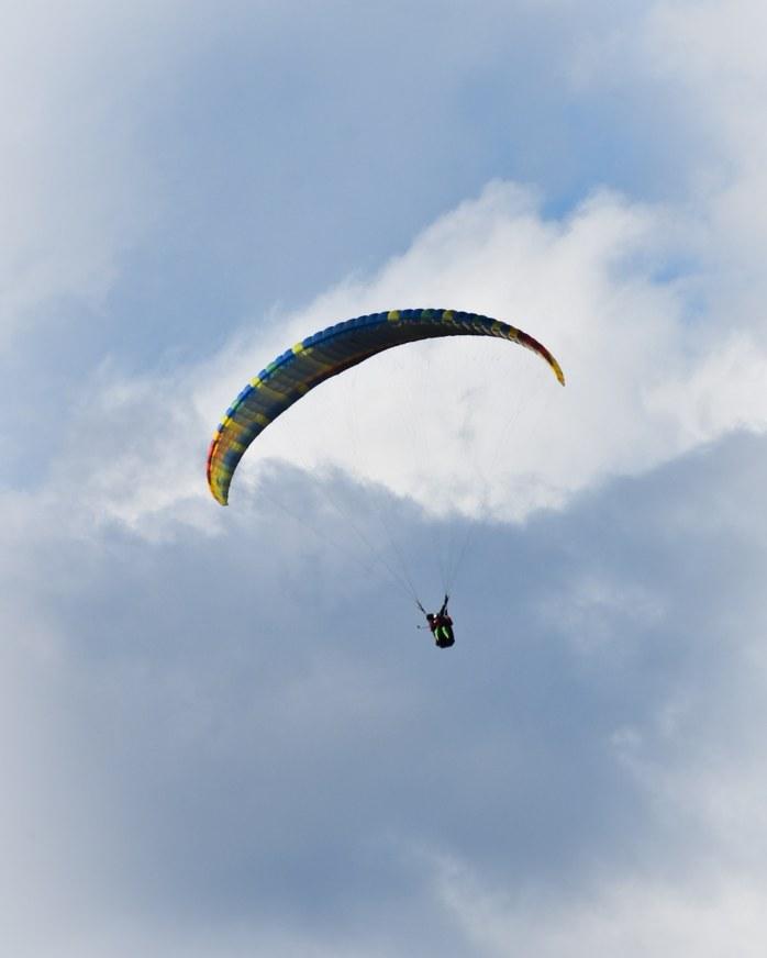 Tandem Paragliding from Billing