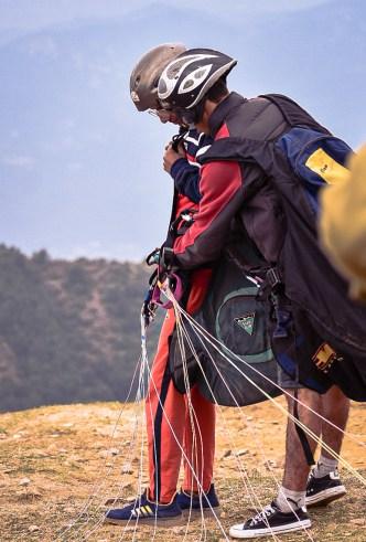 Tandem Paragliding at Billing, Asia's Highest Paragliding Spot