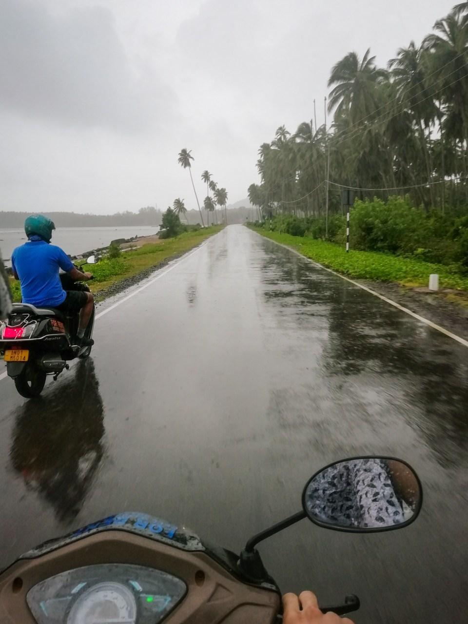 The drive to Chidiya Tapu was pleasing