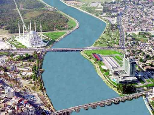 Seyhan Barajı سد سيحان في اضنا