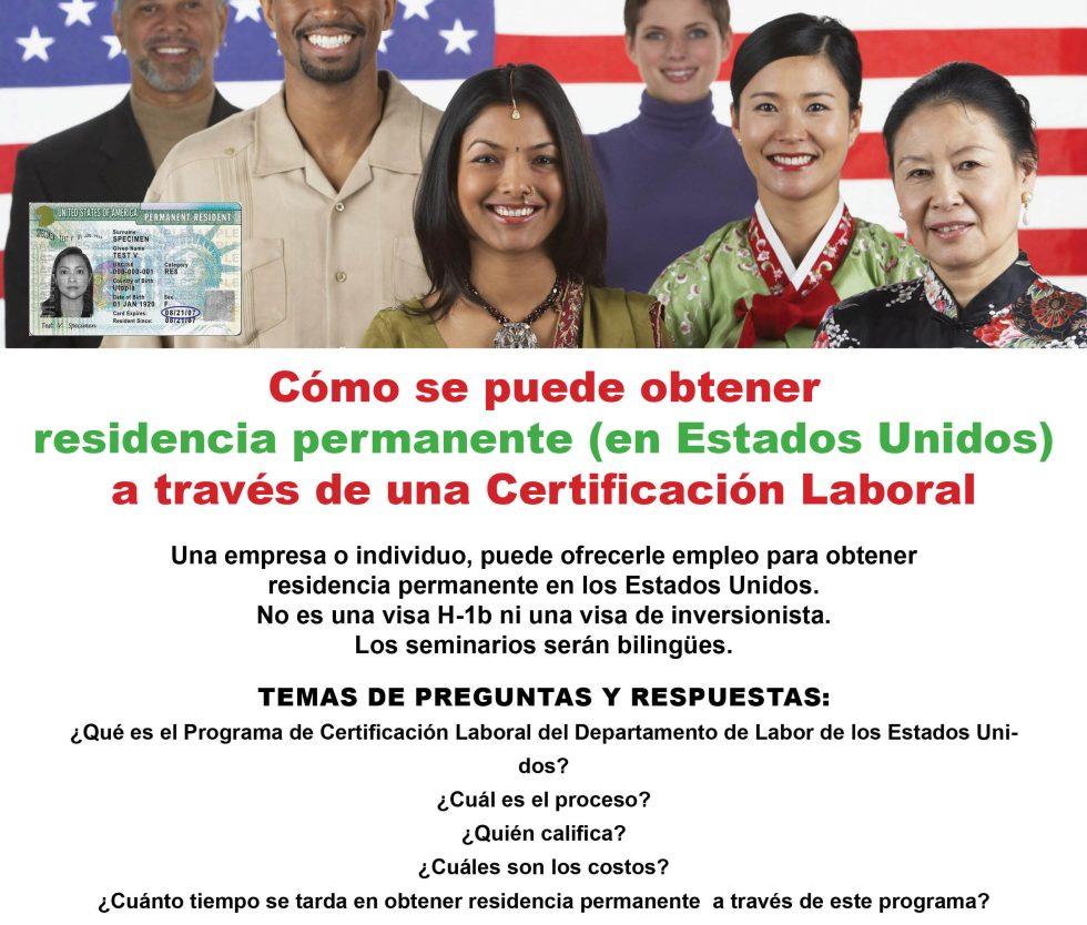 """Cómo obtener residencia permanente o """"green card"""" en Estados Unidos?"""