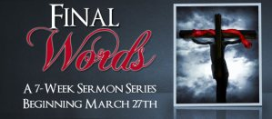 7 week sermon series at Crossroads