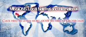 Check out our mission work at Crossroads