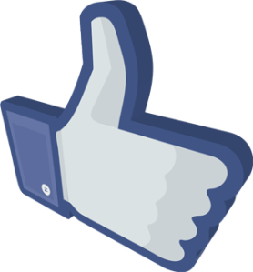 Thumbs Up Facebook Like us On Facebook