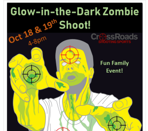 Glow in Dark ZOMBIE Shoot @ CrossRoads Shooting Sports | Johnston | Iowa | United States