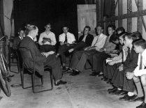 Boys Bible Class, Manse Garage, 1957