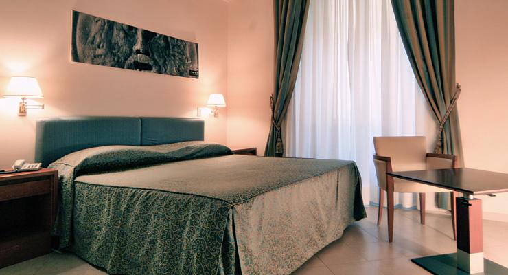 Una camera doppia standard @ Crosti Hotel a  Roma