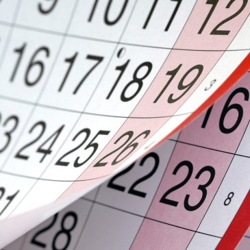 2019 Events Calendar