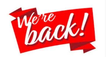We're Back !!