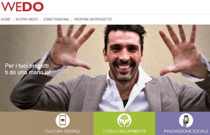 WEDO crowdfunding Telecom Italia