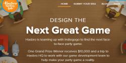Hasbro Indiegogo crowdfunding innovation