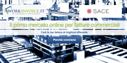 Partnerhip tra Workinvoice (lending P2P) e Sace