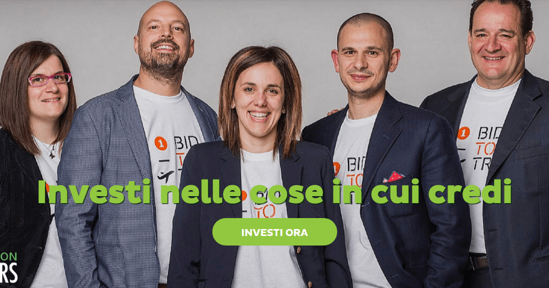 Bidtotrip investitori italiani equity crowdfunding startup