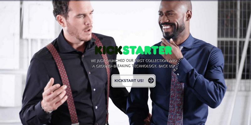 Camicie su misura startup napoletana crowdfunding su Kickstarter