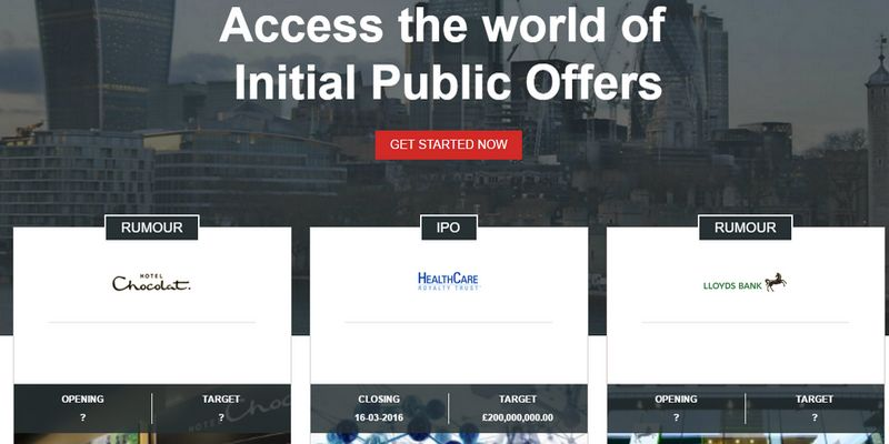SyndicateRoom Equity Crowdfunding IPO