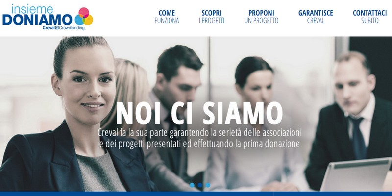 Creval donation crowdfunding