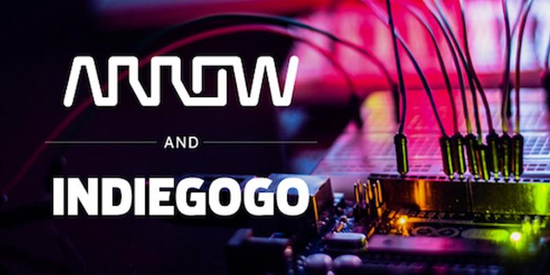 Partnership Indiegogo Arrow per industrializzazione di campagne crowdfunding