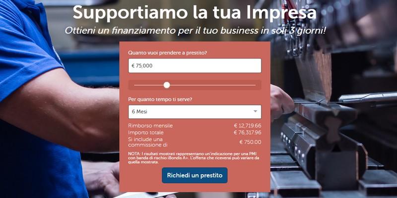 iBondis lending per PMI italiane